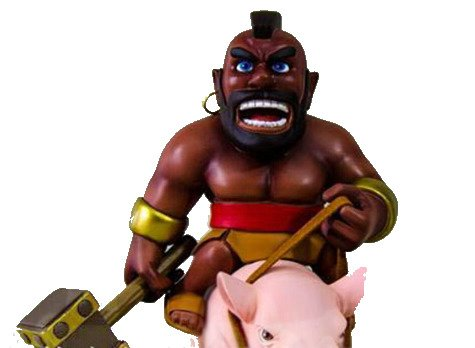 Choque de clanes figura - Clash of clans - Clash of clans figure -Montapuercos- Hog Rider: Amazon.es: Juguetes y juegos