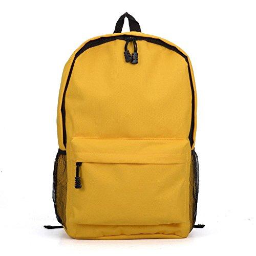 YourDezire - Bolso mochila  para mujer amarillo