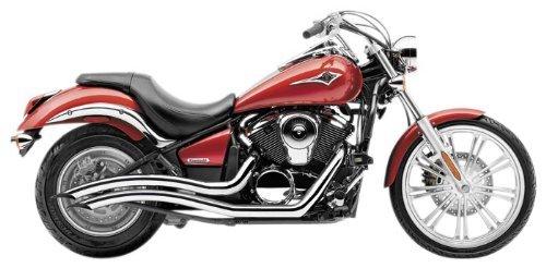 Speedster Swept Exhaust System - Cobra Speedster Swept Exhaust Chrome 4218