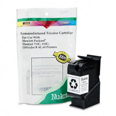 Nu Kote Remanufactured Inkjet (Nukote InternationalTri-Color Remanufactured Cartridge, HP DeskJet 700)