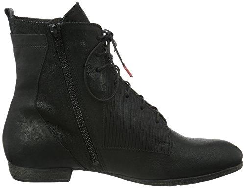 Think Ebbs, Zapatillas de Estar por Casa para Mujer Negro - negro (SZ/KOMBI 09)