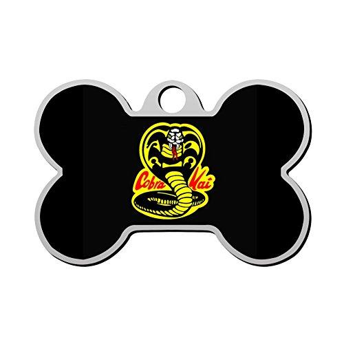 KSOE187 Personalized Printed Dog Tags Cobra Kai Dojo Pet ID