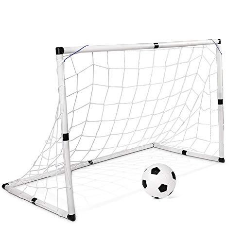 LEOO Children's Large Soccer Door Portable with Detachable Enlightenment Door Nets Household Indoor Outdoor Sports Toys ()