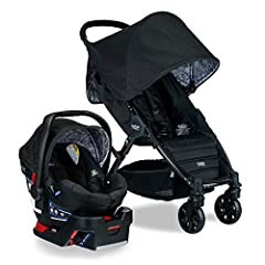 Turn heads on every stroll with the Pathway/B-Safe Ultra Travel System combining the Britax Pathway Lightweight Stroller, the Britax B-Safe Ultra Infant Car Seat with base, and the Britax car seat adapters in one convenient box. This stroller...