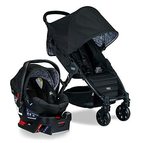 Britax Pathway & B-Safe Ultra Travel System, Sketch (Amazon Exclusive)