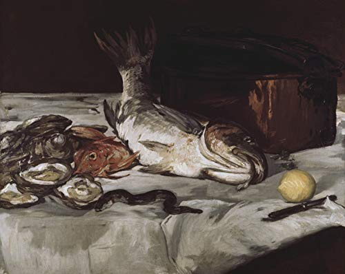 Edouard Manet Fish Art Institute of Chicago, Chicago, Illinois 30