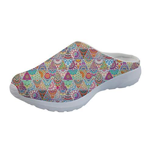 Sandales Femme Sandales Compensées Compensées Coloranimal Bohémien Coloranimal O0gqS1