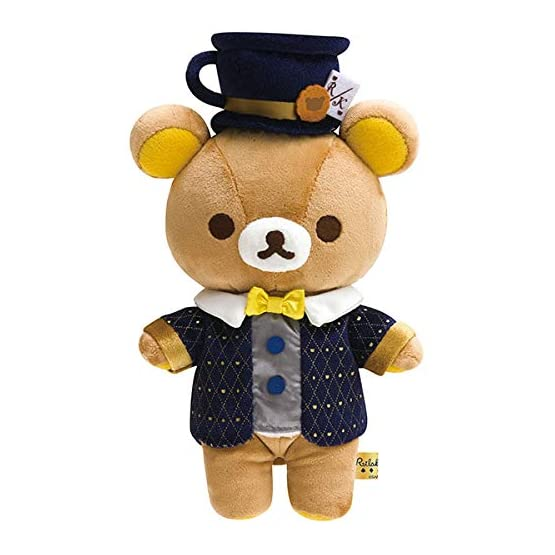 Rilakkuma Mad Hatter Plush | Alice In Wonderland | Tea Time 1