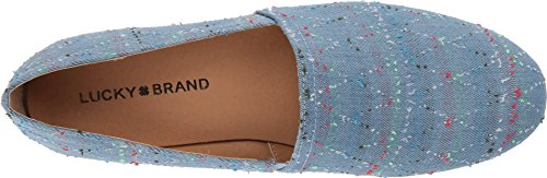 Ballet Denim Women's Flat Light Brettany LK Lucky wRgqFPq