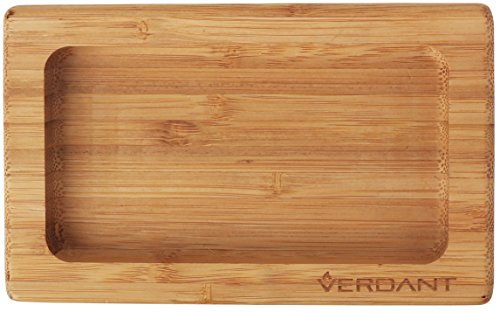 Verdant Smoke Bamboo Rolling Tray - Mini Pocket Size 5.75