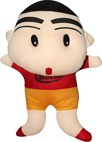 theperfectbazaar kid s fabric shin chan medium size soft toy 38 cm