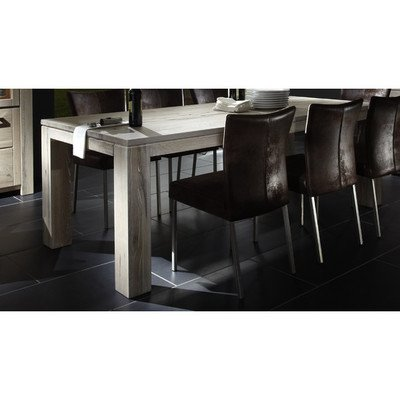 Esstisch Samson Table Finish: White Washed, Size: 78cm H x 240cm W x 110cm D