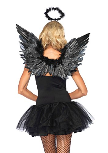 Black or White Angel Kit Costume Accessory Set - White Angel Costumes Kit