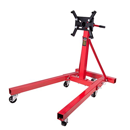 Stand Engine Diesel - Orion Motor Tech 2000 LB Foldable Engine Stand Motor Hoist Moving Jack Dolly