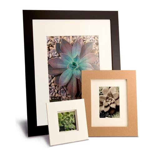 """Metro Picture Frame Color: Black, Size: 18"""" x 24"""" Frame/13"""" x 19"""" Mat"""
