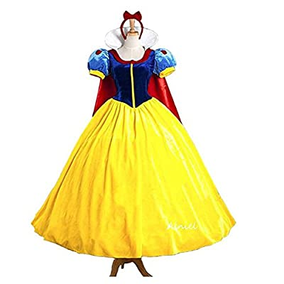 Ainiel Classic Deluxe Lolita Costume Queen Fairytale Dress Role Cosplay for Adults Kids