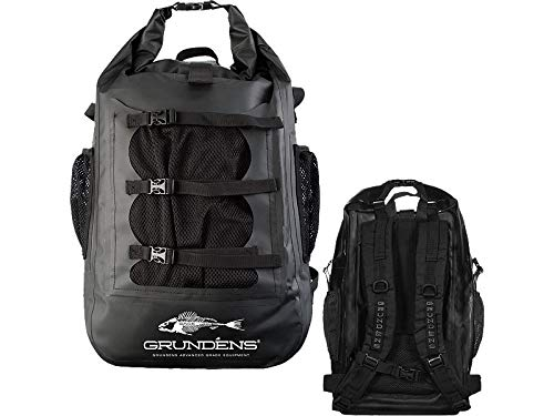 Grundens Gage Tech Rum Runner Backpack - Black Large