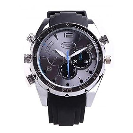 Yatek Reloj espía Full HD 1080p indetectable con visión Nocturna 8GB de Memoria batería de Litio.: Amazon.es: Electrónica