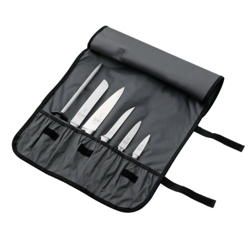 Mercer Culinary 7-Pocket Knife Roll Storage Bag, One Size, Camouflage by Mercer Culinary (Image #1)