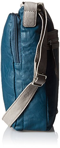 Rosetti Tote It All Mid Crossbody Donna Blu