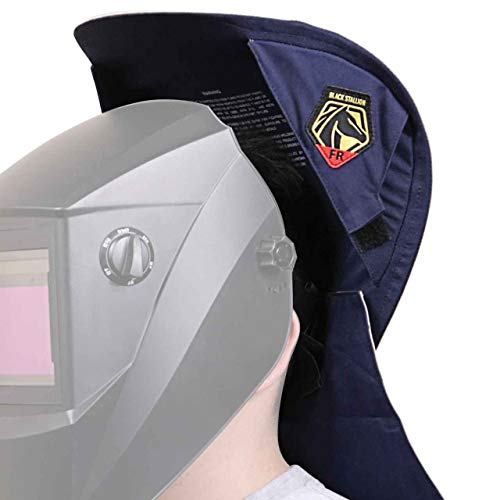 Black Stallion AH3035-NS Glare Blocker Welding Helmet Glare Guard - Welding Helmet Neck Sun Shade Shield (Weld Helmet Bib)