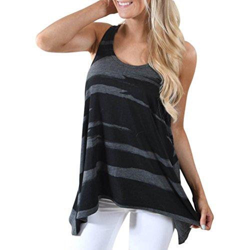 Boomboom Women Vest, Women Casual Plus Size Sleeveless Camouflage Vest Tank Shirt Camisole Size S-5XL