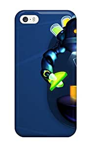 Best Iphone 5/5s Case Bumper Tpu Skin Cover For Robot Color Accessories