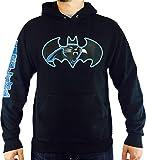 Carolina Panther Batman Black Hoodie