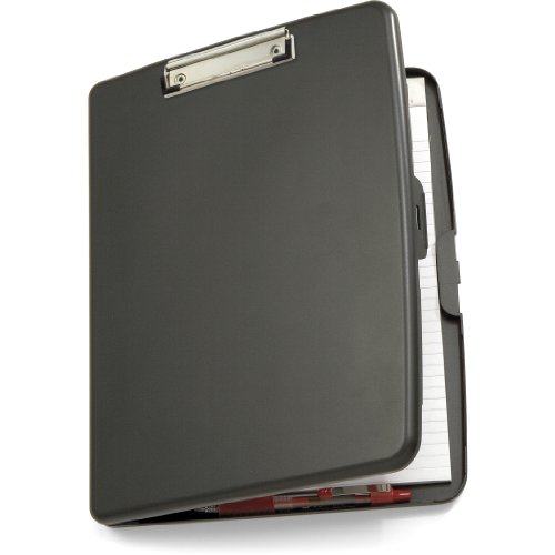 Officemate Clipboard Case Gray 83375