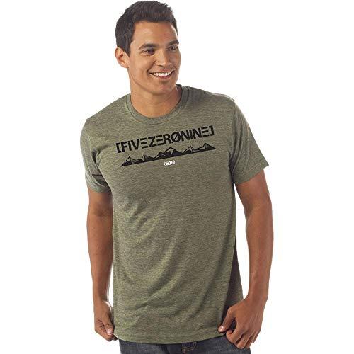 509 FZN Mountain T-Shirt Army Heather (XL) (Heather Triumph)