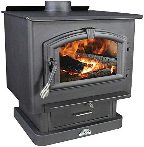 Amazon Com Us Stove 2500 Wood Stove With Blower Home Kitchen