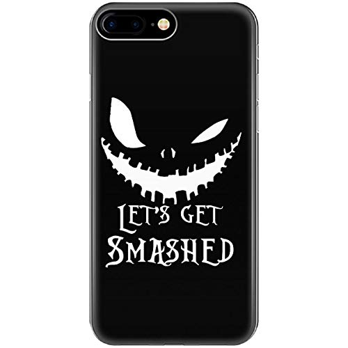 Lets Get Smashed Pumpkin Halloween Party Smashing Pumpkins - Phone Case Fits iPhone 6 6s 7 8