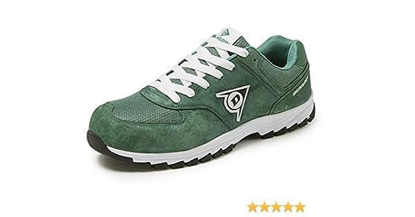 Dunlop DL0201017-38 Zapato Gris 38 Piel de Ante y Mesh