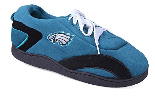 PHI05-5 - Philadelphia Eagles - XX Large - Happy Feet Mens and Womens All Around Slippers