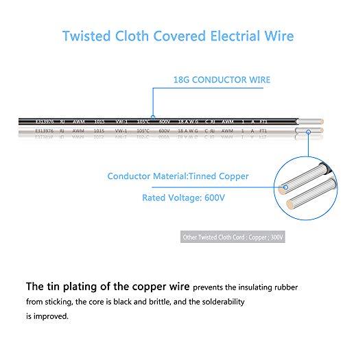 Buy vintage electric cloth cords