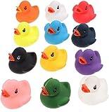 12 Colourful Bath Ducks