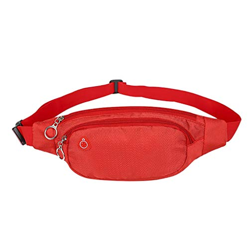 Pengy Unisex Outdoor Sport Bag Pure Candy Color Waterproof Chest Bag Women Men Crossbody Phone Bag