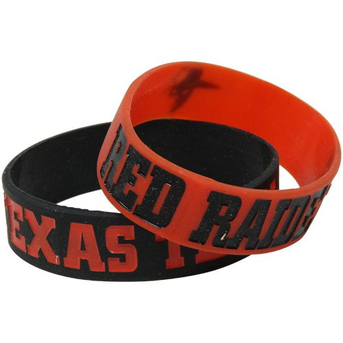 Texas Tech Bulk Bandz Bracelet 2 Pack