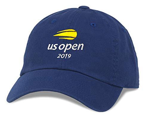 BD INNOVATION ELECTRONICS US Open Tennis Hat 2019 Blue Cotton