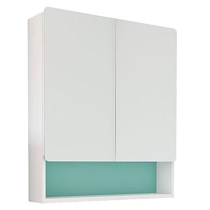 Randalco 24u0026quot; Happy Modern Bathroom Mirror Medicine Cabinet | 24 X 30 X  6 Inch