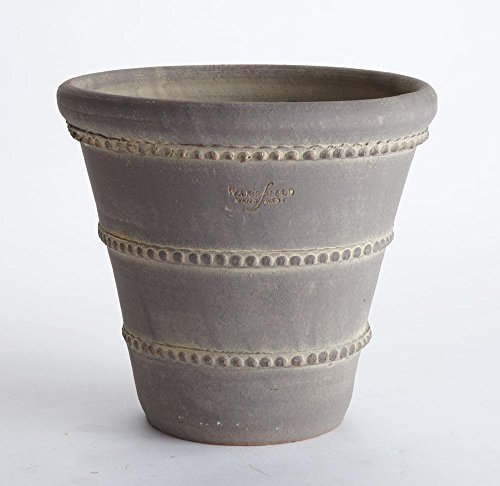 Napa Round Pot (Wakefield Handmade Oldham Pot, Large, Slate Grey Finish)