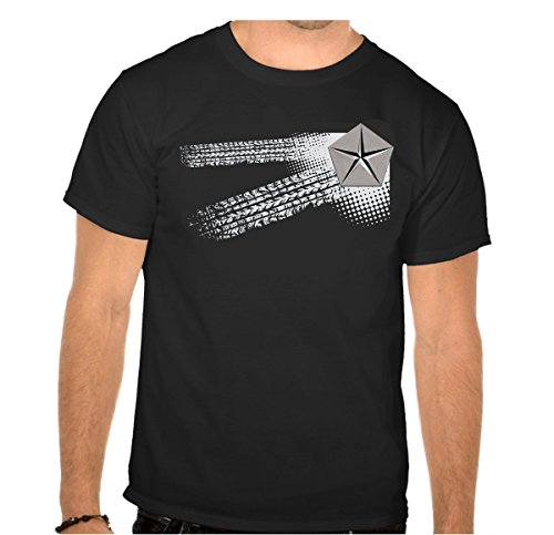Chrysler Auto Logo car Schwarze T-Shirt vor Fun -620