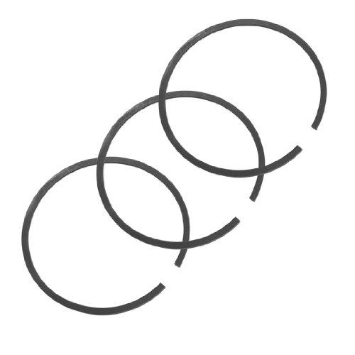 UPC 700836075448, uxcell Spare Part 53mm Outside Diameter Black Metal Piston Rings Set