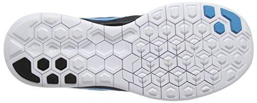 Nike Mens Gratis 5,0 Löparskor Svart / Blå Lagunen / Dk Elctrc Bl