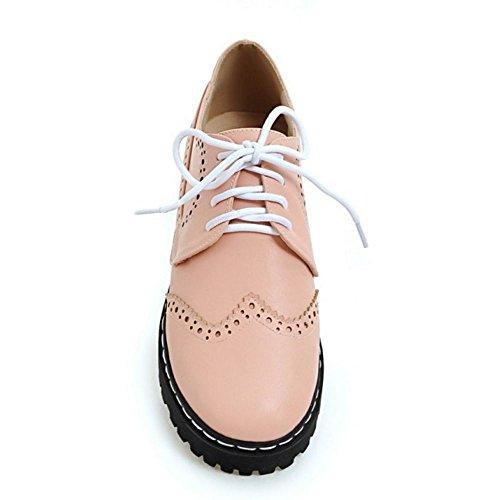 931cc972 Zanpa Mujer Casual Oxford Shoes Cordones Plataforma Zapatos: Amazon.es: Zapatos  y complementos