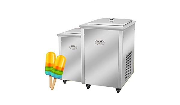 SHIJING Máquina para Hacer palitos de Helado/congelador de paletas ...