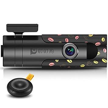 ddpai Mini Wifi DVR para coche giratorio lente cámara de seguridad para coche Hd Visión Nocturna Grabador de Dash Cam grabadoras granos de café carcasa para ...