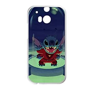 Lilo and Stitch 2 Stich Has a Glitch HTC One M8 Cell Phone Case White JD7700406