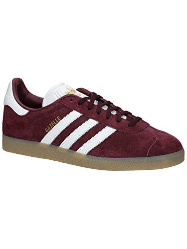 Adidas Originals Gazzella Uomini Bb5506 Scarpa Da Tennis Marrone Grigio