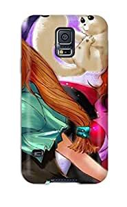 Minnie R. Brungardt's Shop 2448350K34950561 S5 Scratch-proof Protection Case Cover For Galaxy/ Hot Excel, Hyatt Menchi Phone Case